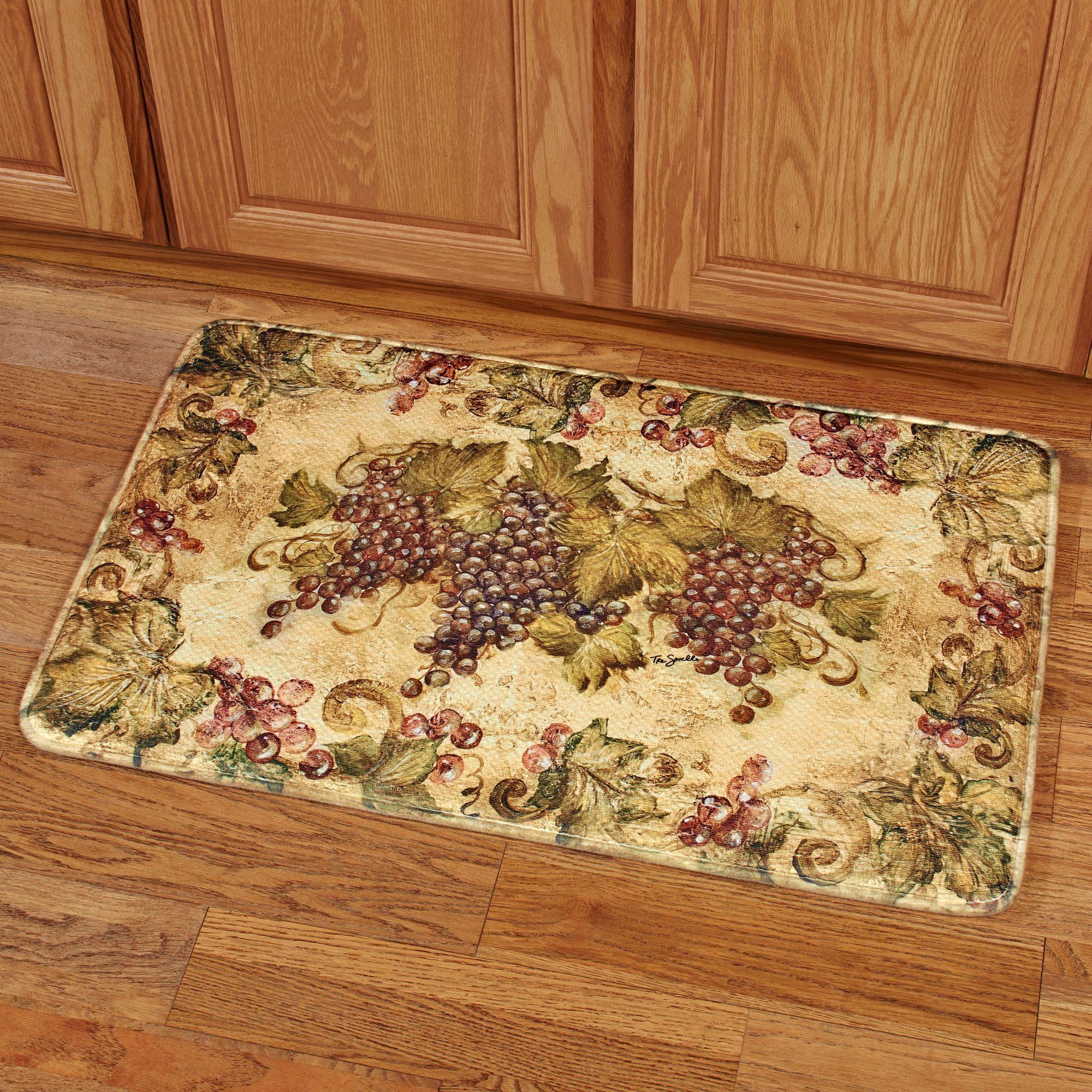 Small Grape Design Kitchen Rugs Home Design Plan